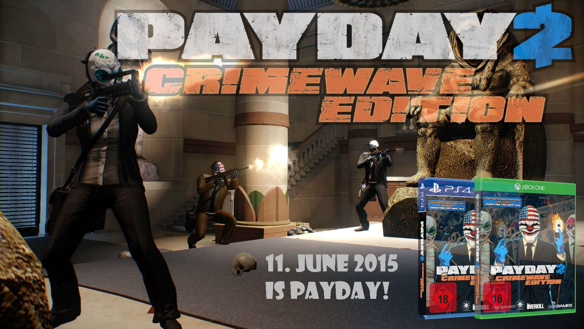 Payday 2 Event in München – Interview mit Almir Listo